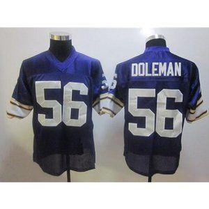 Chris Doleman Purple Stitched Throwback Jersey